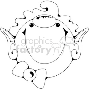 Elf Clown Gnome clipart. Royalty-free image # 388554