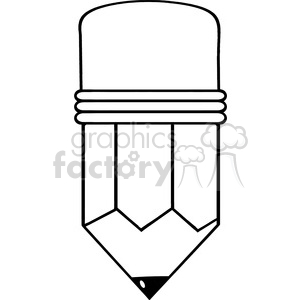 5866 Royalty Free Clip Art Cartoon Pencil clipart. Commercial use image # 388976