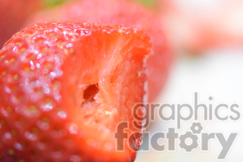 strawberry bite photo. Royalty-free photo # 391145