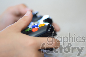 gamer controller hands photo. Commercial use photo # 391155