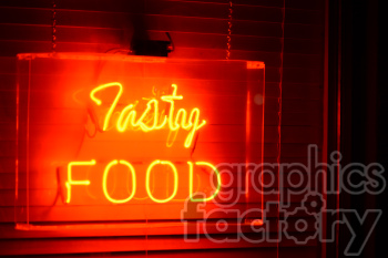 tasty food signage photo. Royalty-free photo # 391235