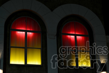 red light district windows clipart. Royalty-free image # 391300