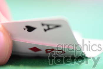 Texas hold-em card game clipart. Royalty-free image # 391335