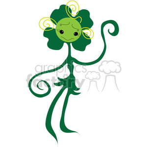 Clover 03 clipart. Commercial use image # 391539