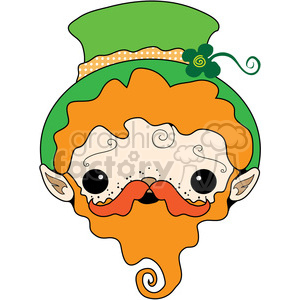 St Patricks Day Leprechaun clipart. Royalty-free image # 391643