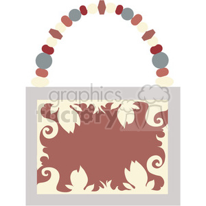 Womens Purse 10 clipart. Royalty-free image # 391567