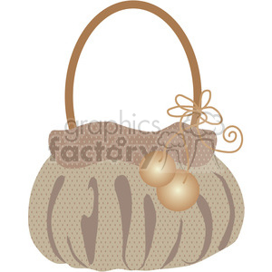 Womens Purse 09 clipart. Royalty-free image # 391566