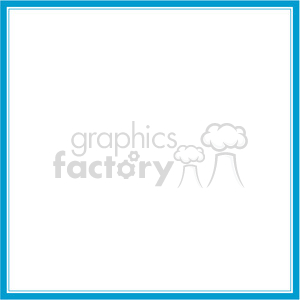 blue lines frame swirls boutique design border 15 clipart. Royalty-free image # 392472