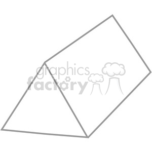 geometry triangular prism math clip art graphics images clipart. Royalty-free image # 392533