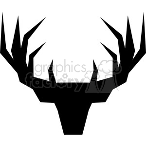 geometric silhouette buck illustration silouhette geometry logo vector graphic clipart. Royalty-free image # 392573