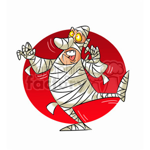 mummy cartoon clipart. Commercial use image # 393243