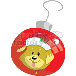 puppy ornament 2 clipart. Commercial use image # 393419