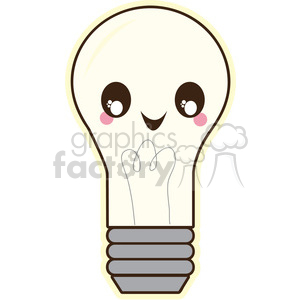 Light Bulb vector clip art image clipart. Royalty-free image # 393782