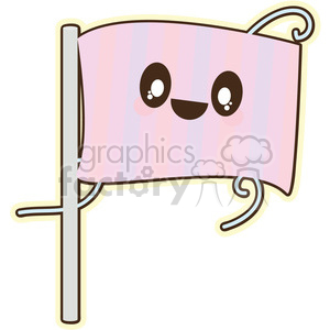 cartoon flag illustration clip art image clipart. Commercial use image # 393842