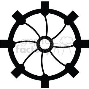 Gear 05 clipart. Commercial use image # 394078