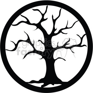 Dead Tree clipart. Royalty-free image # 394098