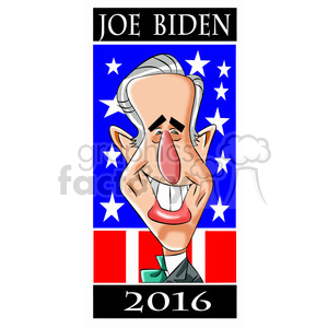 joe biden 2016 clipart. Royalty-free image # 394769