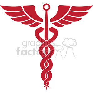 caduceus guide of the dead and protector of merchants shepherds gamblers liars and thieves clipart. Royalty-free image # 394851