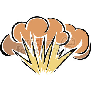 explosion clipart. Commercial use image # 173726