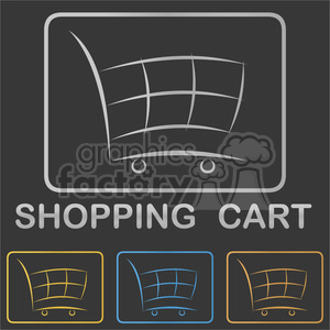shopping cart shopping cart icon shop logo shop shopping logo webshop trolley supermarket symbol shopping cart button button buy buyer cart icon logo e-commerce icon abstract add bag basket business commerce commercial company concept corporate customer design electronic element gift idea identity internet market marketplace metal metallic online retail sale sell set shopping trolley icon sign silver store stylized vector