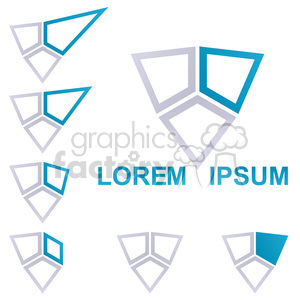 logo template star 003 clipart. Commercial use image # 397202