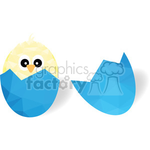 Chick in egg clipart. Royalty-free image # 397964