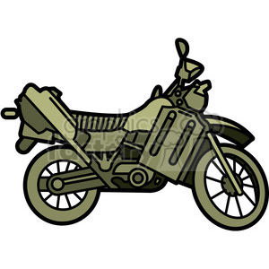 military armored motorcycle vehicle clipart. Commercial use image # 397984