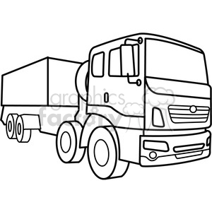 military armored supply vehicle outline clipart. Royalty-free image # 398004