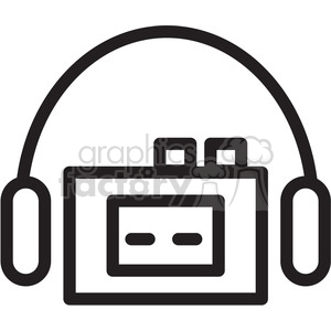 cassette tape player icon