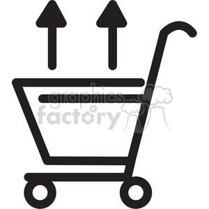shopping cart out icon clipart. Royalty-free image # 398309