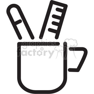 writing supplies icon clipart. Royalty-free icon # 398349