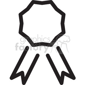 icon black+white symbol symbols award ribbon prize