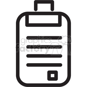 document form icon clipart. Royalty-free image # 398419