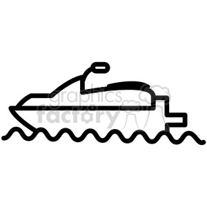 sea doo water craft vector icon clipart. Royalty-free icon # 398536