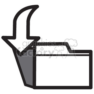 close files vector icon clipart. Royalty-free icon # 398555