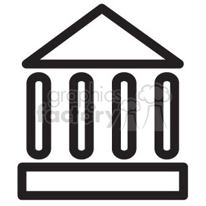 government vector icon clipart. Royalty-free image # 398588