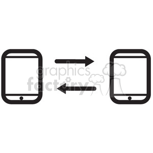 linked devices vector icon clipart. Royalty-free image # 398603