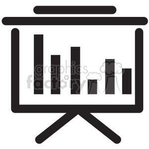 presentation vector icon clipart. Royalty-free icon # 398618