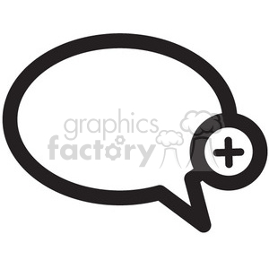 add chat vector icon clipart. Royalty-free image # 398742