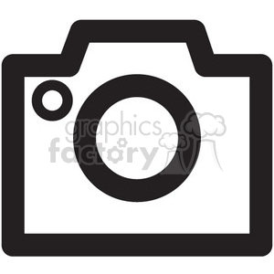 camera vector icon clipart. Royalty-free image # 398772