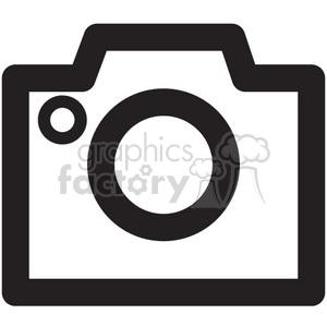 icon icons black+white outline symbols SM vinyl+ready camera cameras