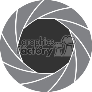 vector shutter art flat design icon clipart. Royalty-free icon # 402368