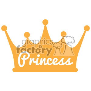 princess crown svg dxf cut files clipart. Royalty-free image # 403100