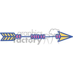 colored arrow vector design 09