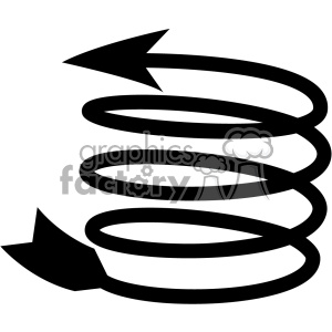 spiral arrow vector design 13
