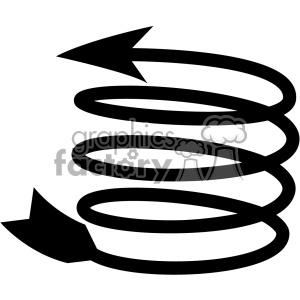 spiral arrow vector design 13