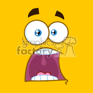 cartoon funny comical face surprised