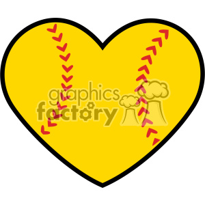 softball love svg cut file clipart. Royalty-free image # 403747