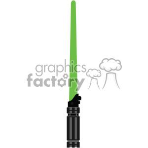 green light saber sword cut file vector art