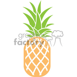 pineapple dxf vector cut file clipart. Royalty-free image # 403763
